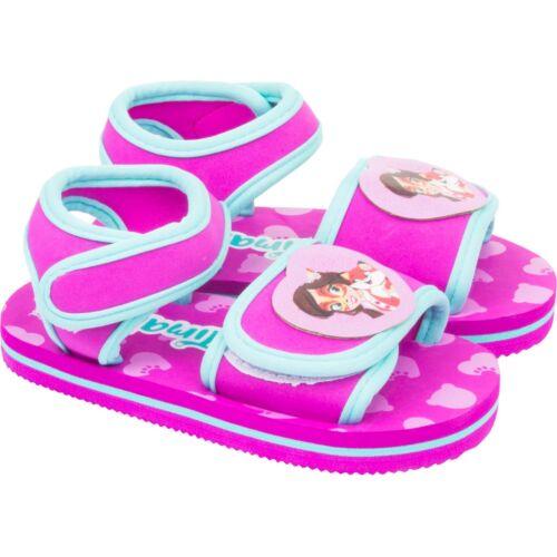 Enchantimals Sandales Bébé Chaussures Enfants Fille Sandale Avec Fermeture Velcro Neuf