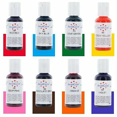 Americolor Soft Gel Paste Food Color (0.75 OZ) - Cake Decorating