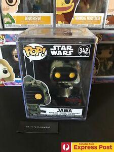 STAR-WARS-JAWA-FUTURA-FUNKO-POP-VINYL-BOBBLE-HEAD-FIGURE-342-W-HARD-CASE
