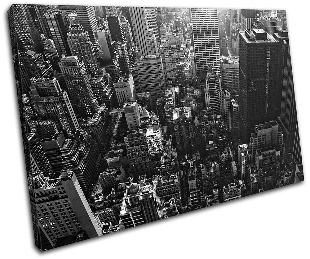 Los Angeles California Skyline City SINGLE TELA parete arte foto stampa