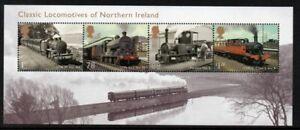 Great Britain Sc 3197 2013 Northern Ireland Steam Locos stamp sheet mint NH