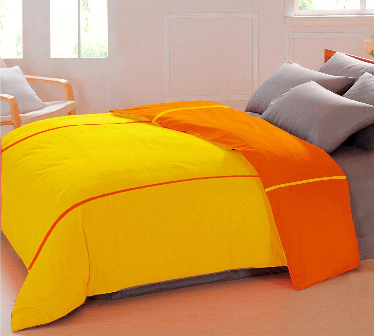 Duvet Cover Home Decorrative Dimensione=Single  Double  King Cotton Dual Coloreeee
