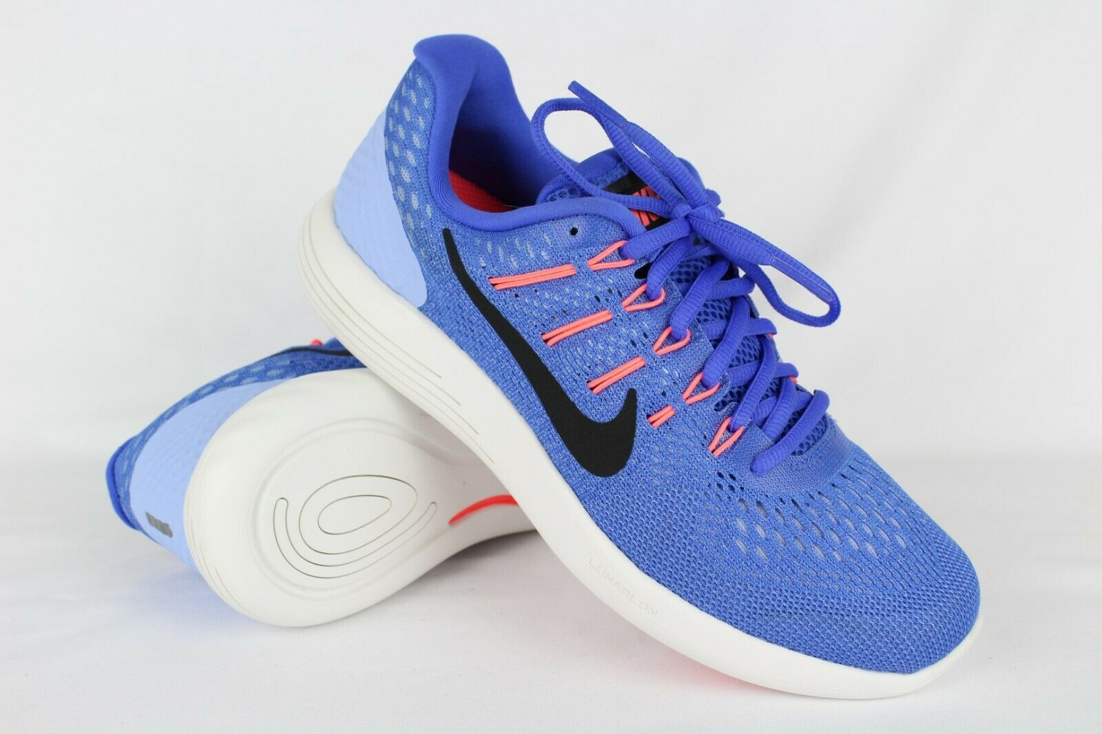 New Nike Women's Lunarglide Lunarglide Lunarglide 8 Running 10 10.5 11.5 or 12 bluee Black Aluminum d36e30