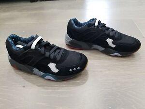 ac65772d9228 Puma R698 X Alife NY Size 7 US Supreme Black Glacier Grey Running ...