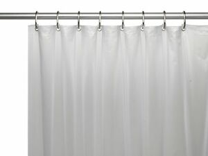 La Foto Se Esta Cargando Heavy Duty 10 Gauge Vinyl Shower Curtain Liners