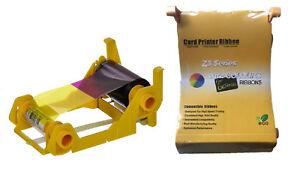 Details about Zebra ZXP Series 3 YMCKO 200 Image Compatible Ribbon