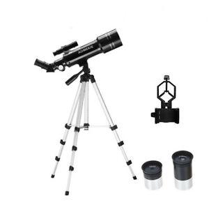 40070 монокуляр, телескоп с регулируемым штативом телефонный адаптер для просмотра Луны
