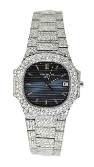 Patek Philippe Nautilus 18k Yellow Gold Steel Midsize Quartz Watch