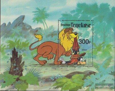 kompl.ausg. Postfrisch 1980 Walt-disney-welt Delikatessen Von Allen Geliebt Togo Block163