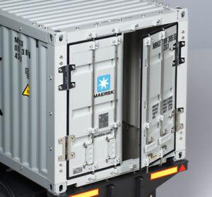 Tamiya-1-14-R-C-40-Pies-Container-SEMIRREMOLQUE-re-Cabina-Camion-56326-hombre