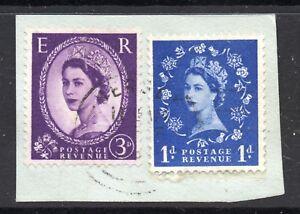 GB  QE2 Postmark  JERSEY 1965 Thin Arcs cancel - WIGAN, Greater Manchester, United Kingdom - GB  QE2 Postmark  JERSEY 1965 Thin Arcs cancel - WIGAN, Greater Manchester, United Kingdom