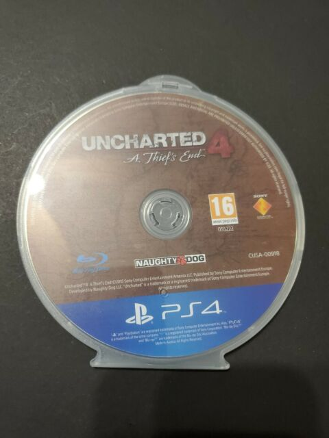 Uncharted 4: A Thief's End PS4 Exclusive, Mint EU EDITION Europe Edition