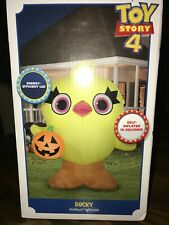 Gemmy 3.5ft Toy Story 4 Ducky Inflatable Airblown Indoor/outdoor Halloween Decor