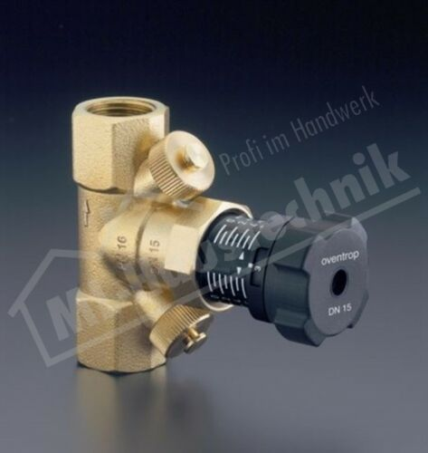 1061710 Hycocon V Strang-regulierventil PN16 DN32 messing Oventrop Ventil