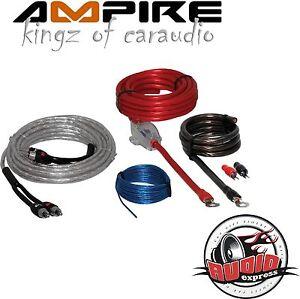 Ampire-epk10-10mm-Juego-de-cables-Amplificadores-Conexion-Kit-PARA-COCHE-Top