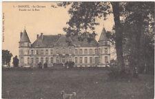HAROUE 8 le château façade sur le parc chien éd cugnin