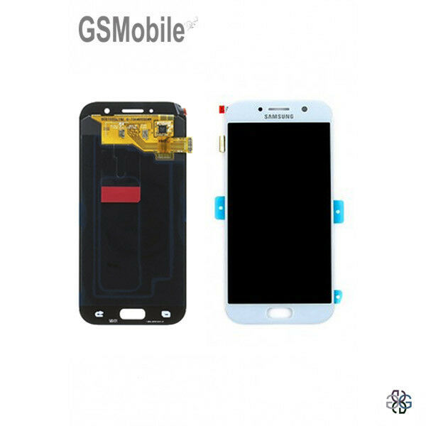 Display Screen LCD Touch Schermo Samsung Galaxy A5 2017 A520F Blue Original