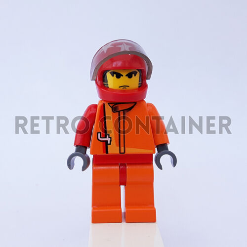 Scorcher Racers Omino Minifig Set 4584 1x rac013 LEGO Minifigures