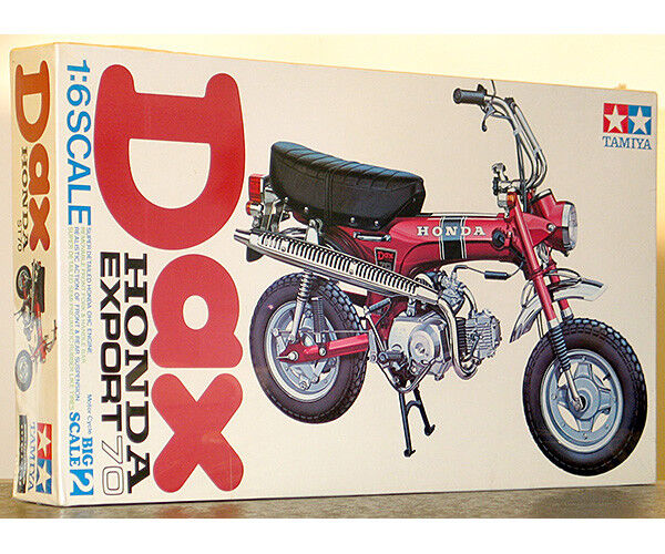 TAMIYA 16 BS0602 HONDA DAX ORIGINAL ISSUE with NEW REPLACEMENT  TRANS DECAL