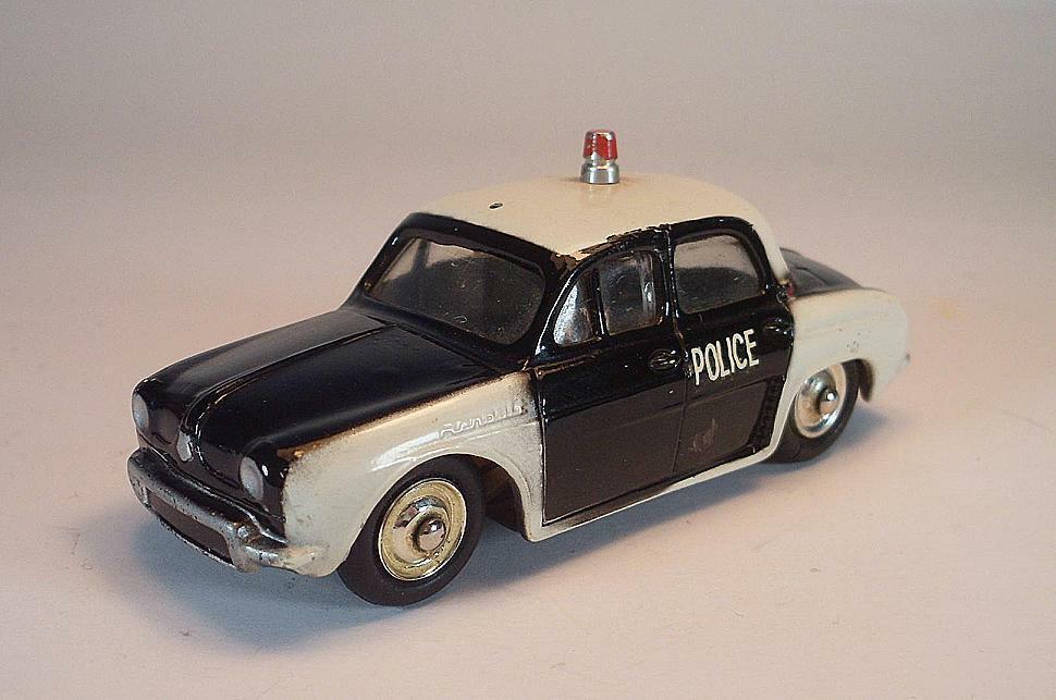 Cij nº 3 57 Renault Dauphine Police negro blancoo  6620