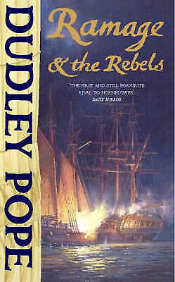 1 of 1 - Ramage and the Rebels by Dudley Pope (Paperback, 1979)