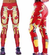 Marvel Comics Ironman Armor Yoga Pants OSFM Leggings