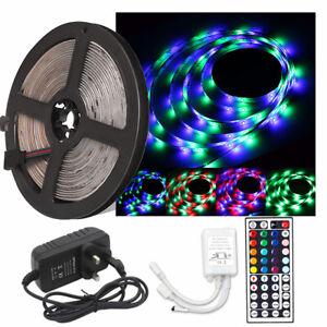 12V 5050 2811 IC 60LED//m Epoxy LED Strips 3M Tape RGB Party Backlight Decor