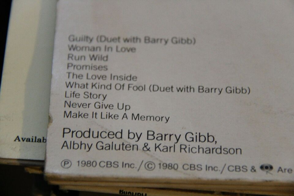 LP, Barbara Streisand, Guilty