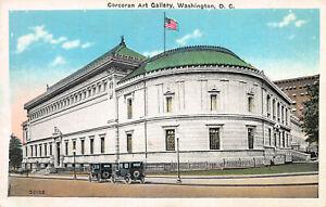 Corcoran-Art-Gallery-Washington-D-C-Early-Postcard-Unused