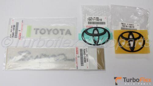 Toyota Supra 1993-1998 Supra Front Bumper /& Rear Lift Gate Emblem Set Genuine
