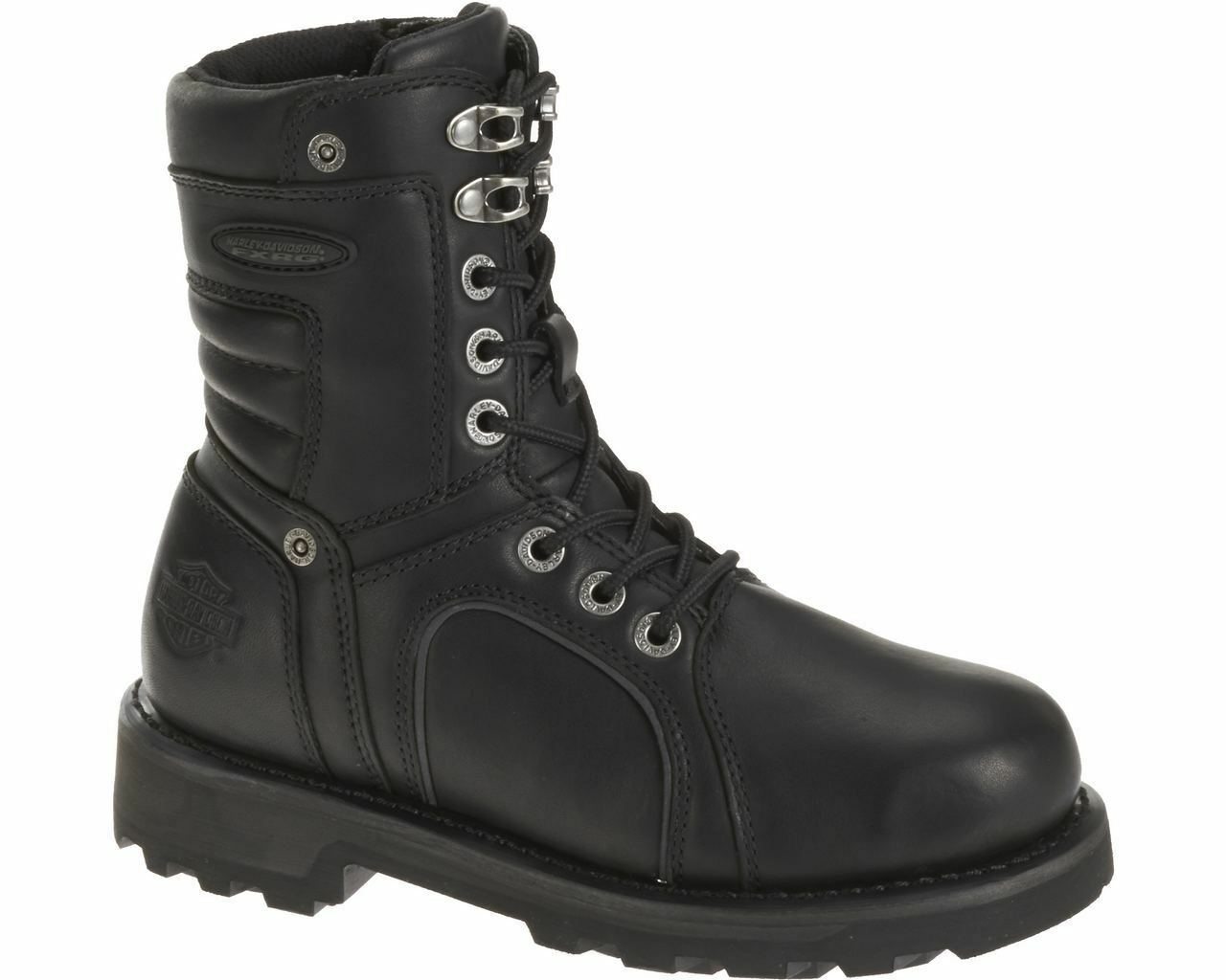 Harley-Davidson ZADORA FXRG Women's Waterproof Riding Black Leather Boots 87064