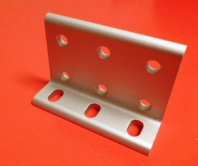 80//20 Inc EQUIVALENT Alum 9 Hole Slotted Inside Corner Bracket 10 Series 4251