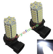 2X coche 120 LED 3528 SMD HB3 9005 HID Xenon lámpara DRL Bombilla 12V