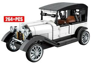 NEW Ford Model T Classic Retro Car Model Custom Full Set fit Technic Block Brick