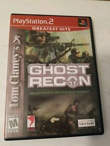 Tom-Clancy-039-s-Ghost-Recon-Sony-PlayStation-2-2002-GREATEST-HITS-Cib