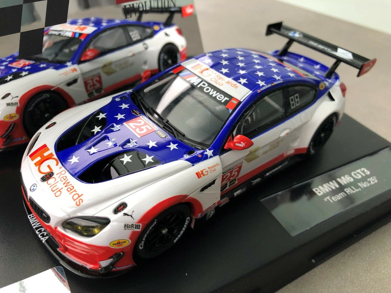 Carrera Evolution 27559 BMW M6 GT3   Team Rll, No. 25   Nip