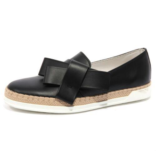 041f71affb8 Shoe Tod s Loafer B1555 Mocassino Nera Donna Scarpa Woman fZOFw