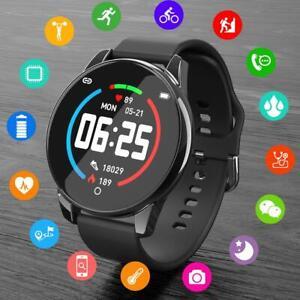 Smart-Watch-Blood-Pressure-Heart-Rate-IP67-Waterproof-Fitness-Tracker-Bracelet