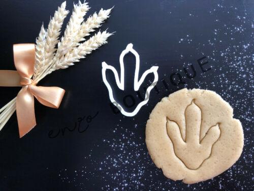 DINOSAUR FOOT PRINT Cookie CutterFondant Décoration GâteauVendeur Britannique
