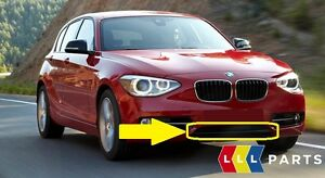 BMW-NEW-GENUINE-1-SERIES-F20-F21-FRONT-BUMPER-LOWER-TRIM-STRIP-BLACK-SPORT