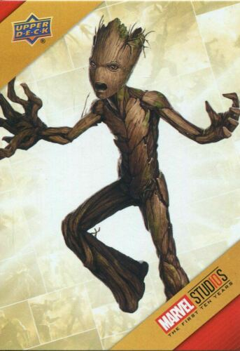 Marvel Ten Years Cinematic Universe Chase Card TU10 Groot 10