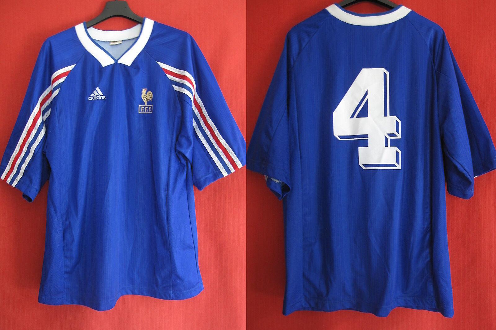Maillot Equipe de France Vintage porte Vintage Espoir azul - XL