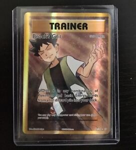 Evolutions 107//108 1x Brock/'s Grit Full Art Ultra Rare NM-Mint Pokemon XY