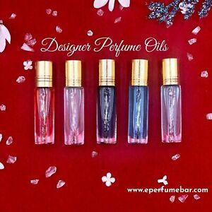 Designer Perfume Oils 10ml UNCUT. Alcohol Free. CREATE SET LOT