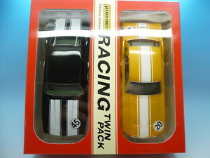 Pioneer Racing - Pack de 2 packs Rtp 10 Mustang contre Camaro, neuf en parfait état