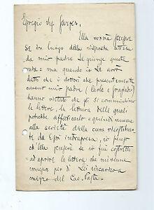 Lettera-Autografo-Giornalista-Guglielmo-Emanuel-Torino-Condizioni-Precarie-Padre