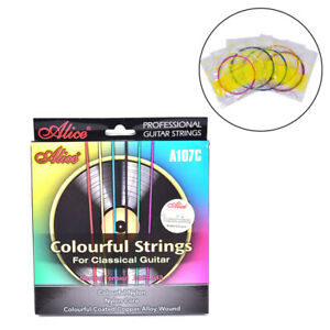 A107C-Colorful-Classical-Guitar-Strings-Nylon-Coated-Copper-Alloy-Wound-StringB