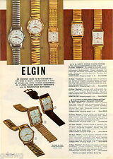 1961 ADVERTISEMENT 3  Watches Elgin Spencer Thin-Thin 27 Prudence Bracelette