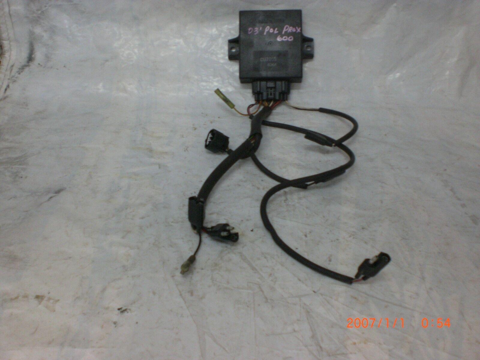03 'Polaris Pro X 600 CDI och Harness Item
