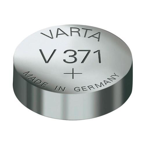 Varta 1 X Akku V371 371 SR920SW SR69SW SR920 SR69 1.55v